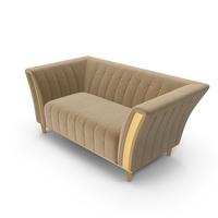 Adora Diamante Art Deco Luxury Sofa PNG & PSD Images