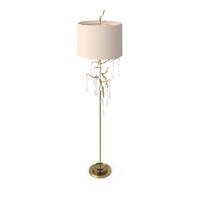 John Richard Crystal Drip Floor Lamp PNG & PSD Images