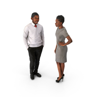 Businessman and Businesswoman PNG & PSD Images