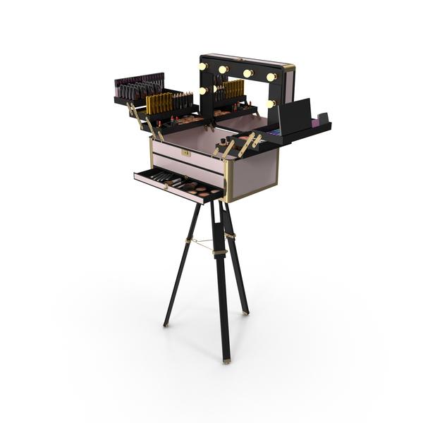 Portable Makeup Station PNG & PSD Images