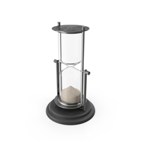Silver Hourglass PNG & PSD Images