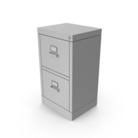 Filling Cabinet Gray PNG & PSD Images