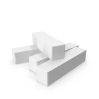 Cardboard Box Set PNG & PSD Images