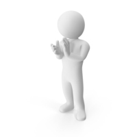 Stickman Clapping Hands PNG & PSD Images