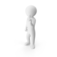Stickman Attention PNG & PSD Images