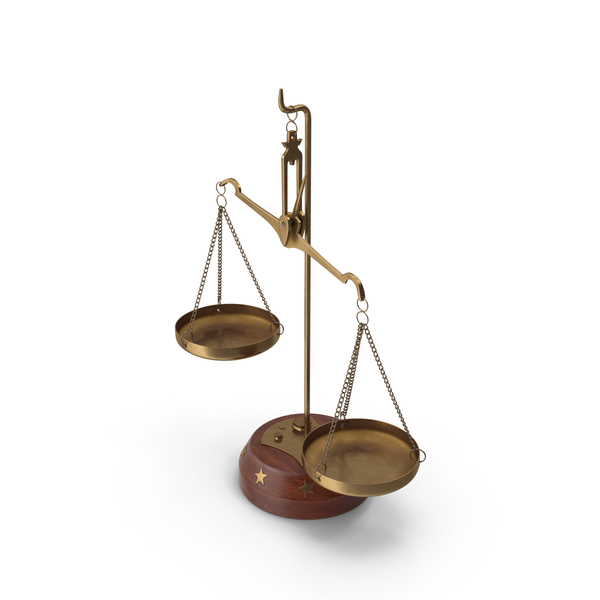 Unbalanced Scales with Weights PNG & PSD Images