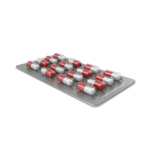 Pill Blister Pack PNG & PSD Images