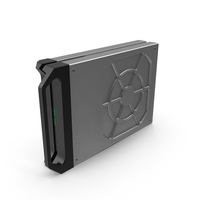 Sci-fi Hard Disk Drive PNG & PSD Images