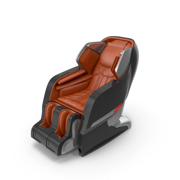 Yamaguchi Axiom Chrome Massage Chair PNG & PSD Images