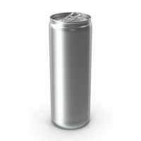 Beverage Can Sleek 350ml Open PNG & PSD Images
