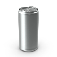 Beverage Can Slim 200ml Open PNG & PSD Images