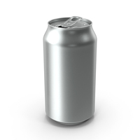 Beverage Can Standard 375ml Open PNG & PSD Images