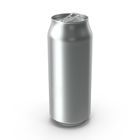 Beverage Can Standard 500ml Open PNG & PSD Images