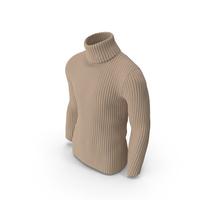Men's Sweater Beige PNG & PSD Images