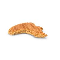 Stroopwafel Bitten PNG & PSD Images