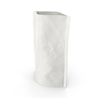 Stand Up Zipper Pouch 150g Open White PNG & PSD Images