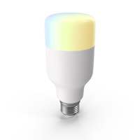 Smart LED Bulb On PNG & PSD Images