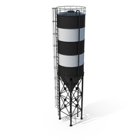 Cement Silo PNG & PSD Images