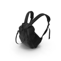 Women's Backpack Black PNG & PSD Images