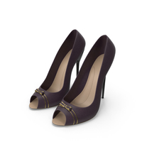High Heels Women's Shoes PNG & PSD Images