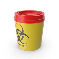 Medical Waste Disposal Sharps Bin PNG & PSD Images