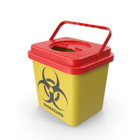 Medical Waste Disposal Sharps Container PNG & PSD Images