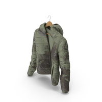 Women's Down Jacket Mud On Hanger PNG & PSD Images