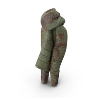 Women's Down Jacket Blood PNG & PSD Images