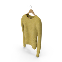 Women's Pullover Yellow PNG & PSD Images