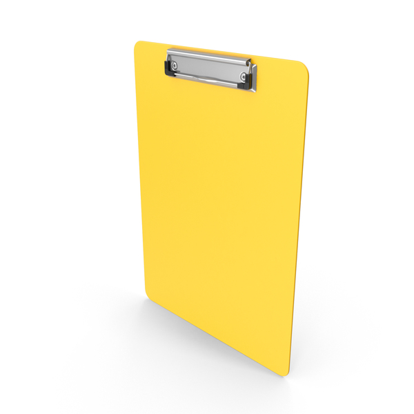 Clipboard Yellow PNG & PSD Images