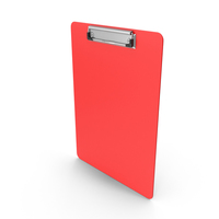 Clipboard Red PNG & PSD Images