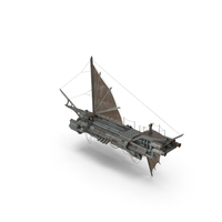 Steampunk Ship PNG & PSD Images