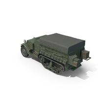 M5 Half Track Troop Transport PNG & PSD Images