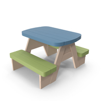 Kid's Table PNG & PSD Images