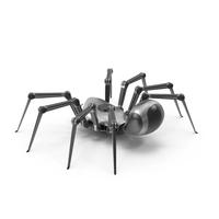 Robot Spider Metal Black PNG & PSD Images
