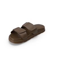 Womens Sandal Brown PNG & PSD Images