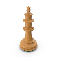 Wooden Chess King PNG & PSD Images