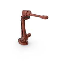 ABB IRB4600 Robotic Arm PNG & PSD Images