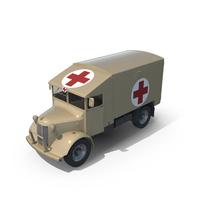 Vintage Military Ambulance PNG & PSD Images