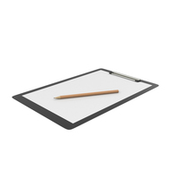 Clipboard And Pencil PNG & PSD Images