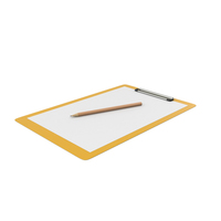 Notepad And Pencil PNG & PSD Images