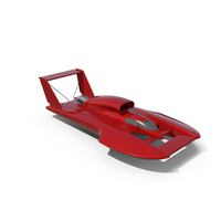 Hydroplane Racing Boat PNG & PSD Images