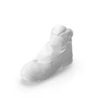 Men's Winter Boot PNG & PSD Images
