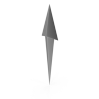 Steel Directional Arrow PNG & PSD Images