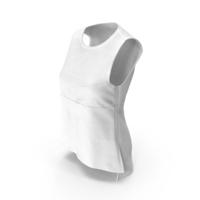 Women's Vest White PNG & PSD Images