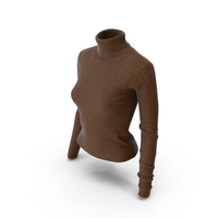 Womens Pullover Brown PNG & PSD Images