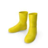 Rubber Safety Boots PNG & PSD Images