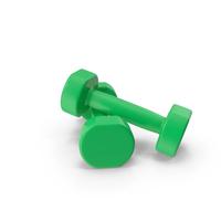green dumbbells PNG & PSD Images