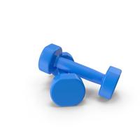 Blue Dumbbells PNG & PSD Images