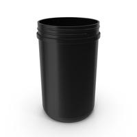 40oz Plastic Wide Mouth Jar PNG & PSD Images